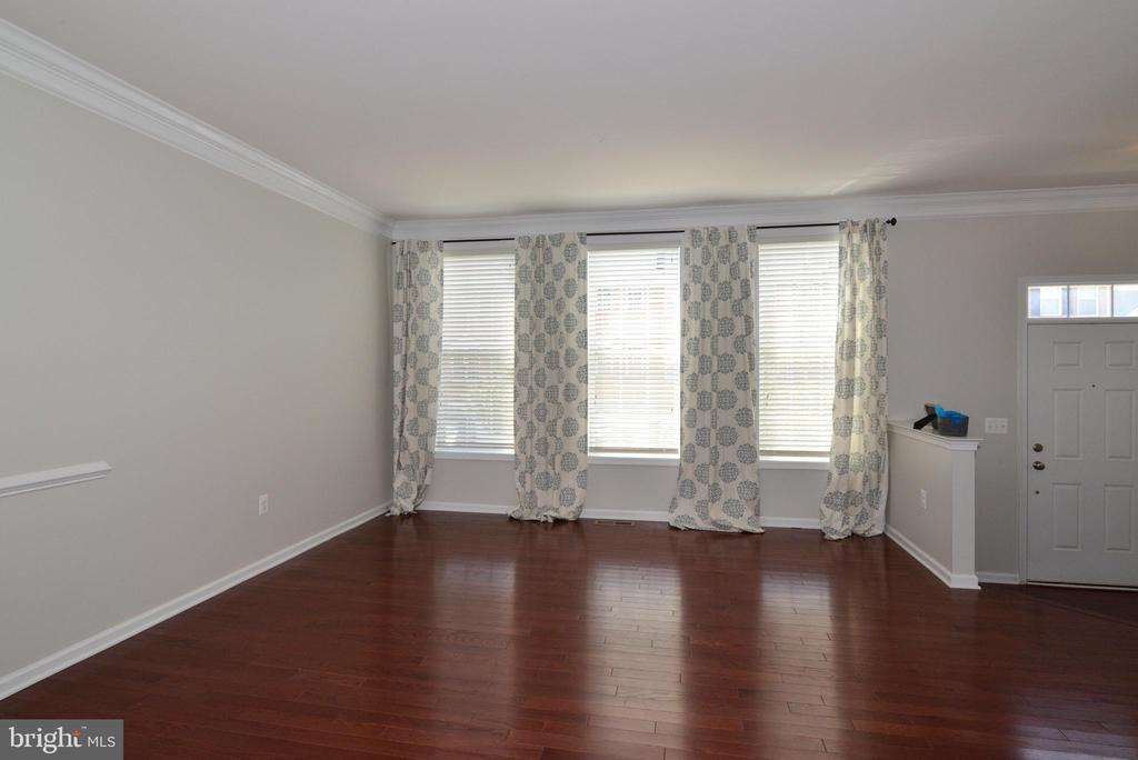 Light filled living area w gorgeous windows - 43275 MITCHAM SQ, ASHBURN