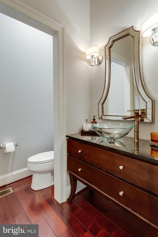 1 of 2 Main Level Powder Rooms. - 2508 COULTER LN, OAKTON