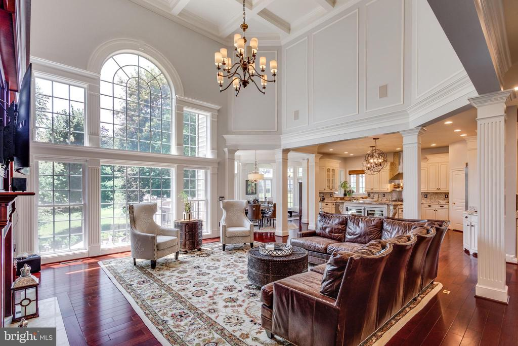 Two Story Great Room with Spectacular Views. - 2508 COULTER LN, OAKTON