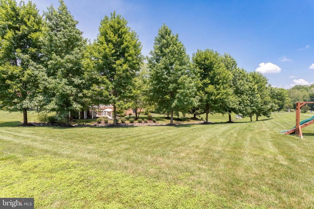 Expansive Front & Back Yards. - 2508 COULTER LN, OAKTON