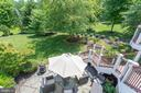 View to Lower Level Patio. - 2508 COULTER LN, OAKTON