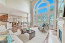 Spectacular floor-to-ceiling windows - 18382 FAIRWAY OAKS SQ, LEESBURG