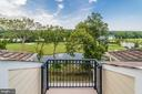 Library balcony's heavenly views - 18382 FAIRWAY OAKS SQ, LEESBURG
