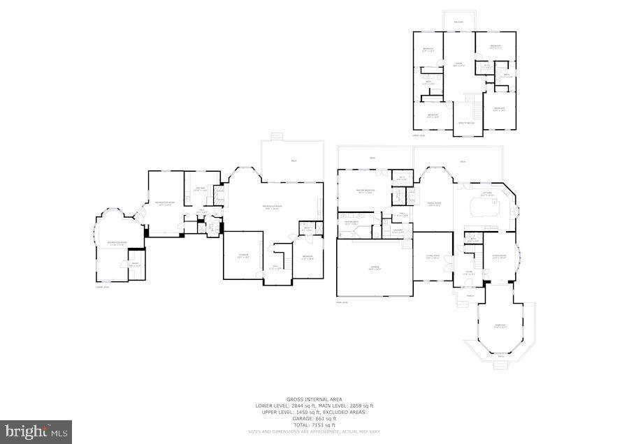 Complete House floor plan - 7395 BEECHWOOD DR, SPRINGFIELD