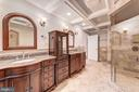 Stunning Four Seasons style Master Bath - 7395 BEECHWOOD DR, SPRINGFIELD