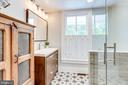 Totally renovated bathroom on the main level! - 652 SPRING ST, HERNDON