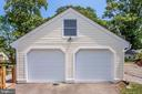 Detached two car garage with NEW doors! - 652 SPRING ST, HERNDON