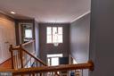 upstairs open foyer - 1302 WANETA CT, ODENTON