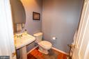 half bath main level - 1302 WANETA CT, ODENTON