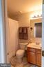 full bath in basement - 1302 WANETA CT, ODENTON