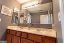 main bath upper level - 1302 WANETA CT, ODENTON