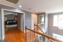 upstairs hallway - 1302 WANETA CT, ODENTON