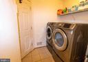 laundry room/mud room off kitchen - 1302 WANETA CT, ODENTON