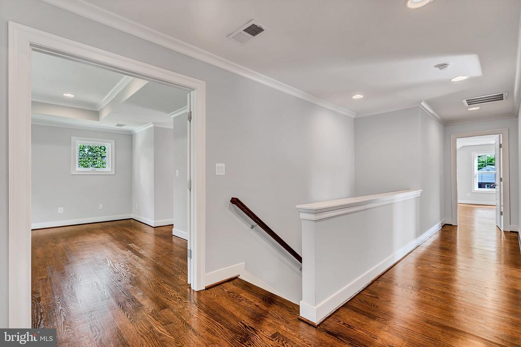 Optional Hardwood -Upstairs Hallway - 1849 WARE RD, FALLS CHURCH