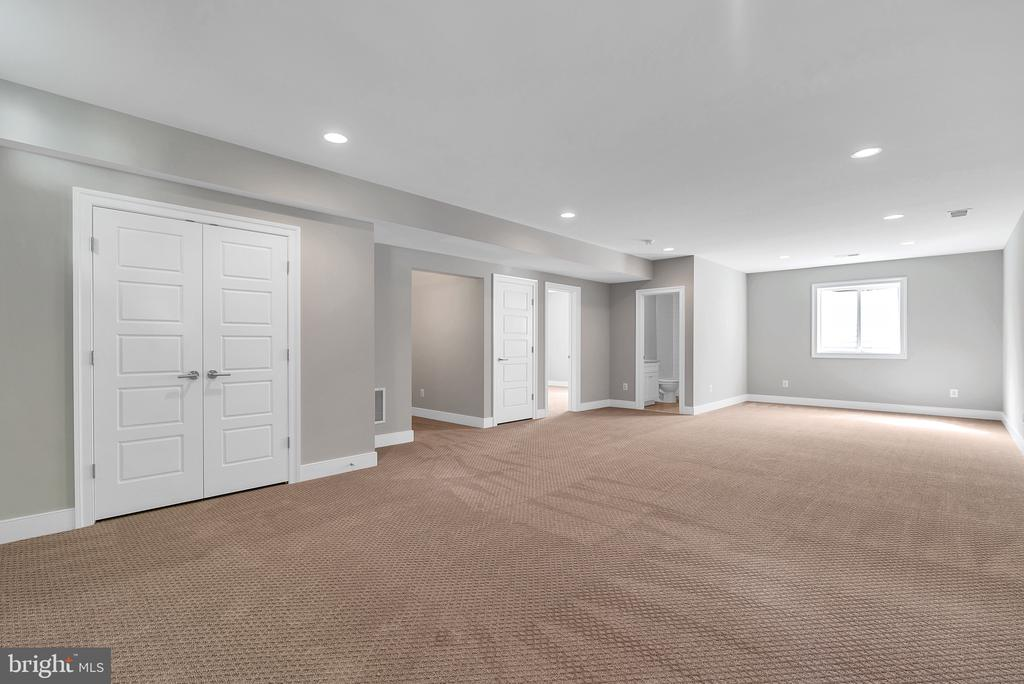 Lower Level Recreation Room (Similar sold Home) - 1849 WARE RD, FALLS CHURCH