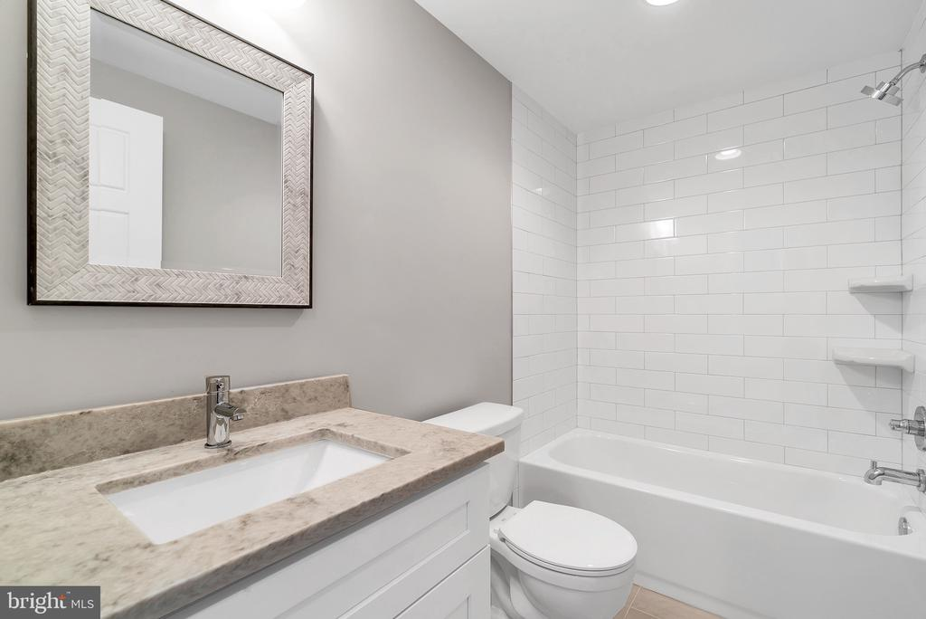 Lower Level Full Bathroom (Similar sold Home) - 1849 WARE RD, FALLS CHURCH