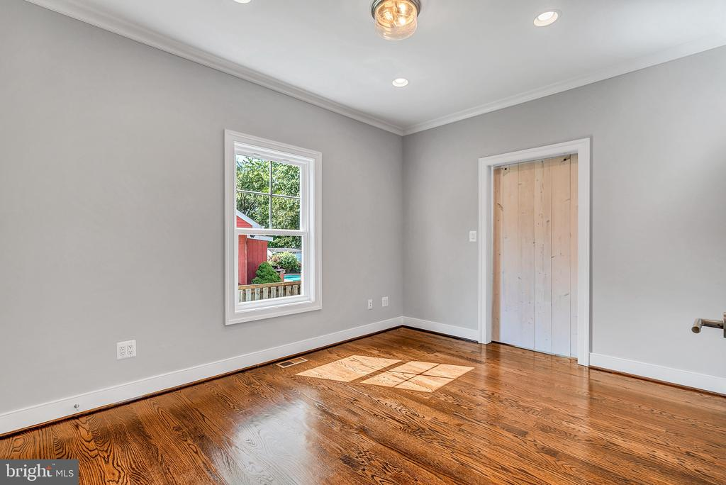 Study w/ Barn Door (Similar sold Home) - 1849 WARE RD, FALLS CHURCH