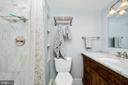 Even the second bath is fully renovated! - 5902 MOUNT EAGLE DR #609, ALEXANDRIA