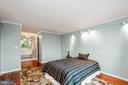 Main bedroom with 2 closets, large bath - 5902 MOUNT EAGLE DR #609, ALEXANDRIA