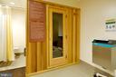 Sauna in the locker rooms - 5902 MOUNT EAGLE DR #609, ALEXANDRIA