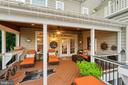 Beautiful Porch for fresh air in the morning - 42050 MIDDLEHAM CT, ASHBURN