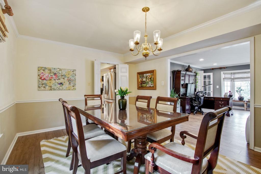 Dining Room into Family Room - 20400 ALTAVISTA WAY, ASHBURN