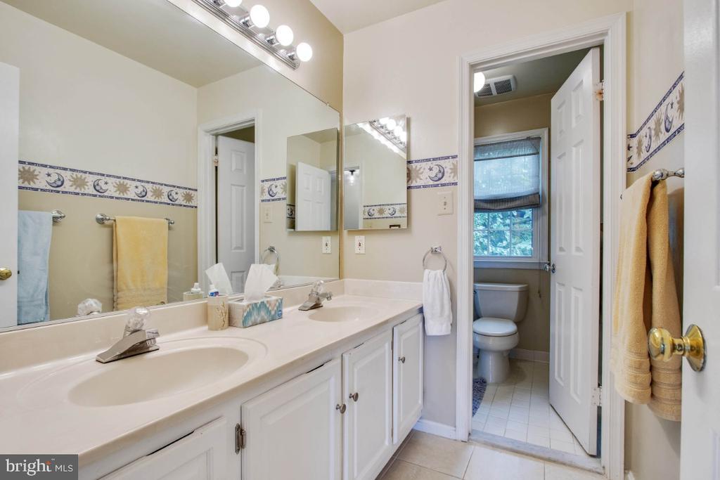 Hall Bath- Dual Sinks - 20400 ALTAVISTA WAY, ASHBURN