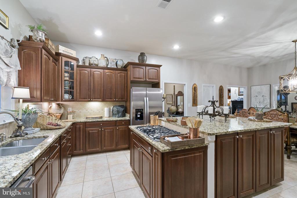 Tiled  Floor Kitchen - 42050 MIDDLEHAM CT, ASHBURN