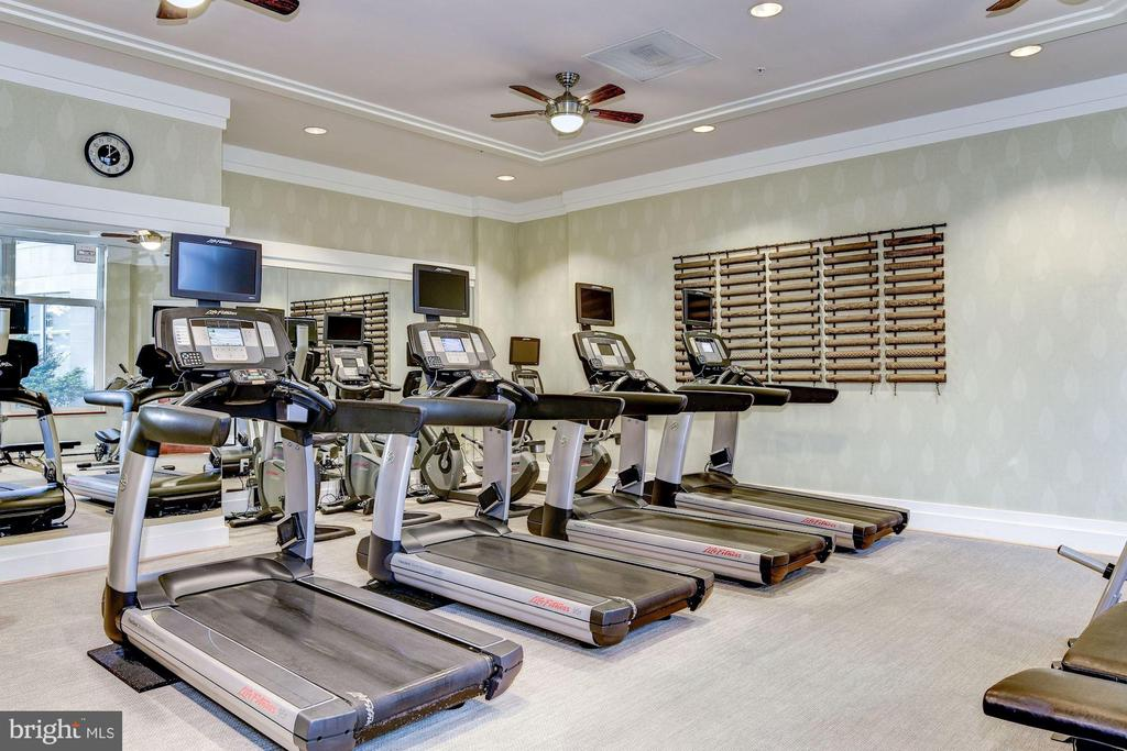 Gym - 8220 CRESTWOOD HEIGHTS DR #1814, MCLEAN