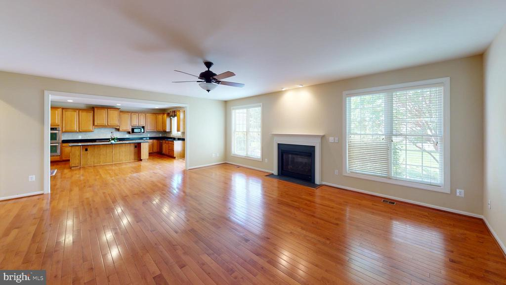 Hard wood floors throughout main level - 1410 MACFREE CT, ODENTON