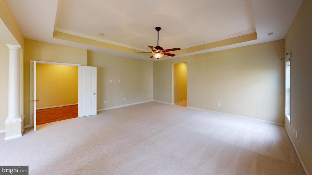 Master bedroom featuring a Tray Ceiling - 1410 MACFREE CT, ODENTON