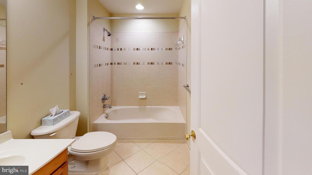 Full bathroom in basement - 1410 MACFREE CT, ODENTON