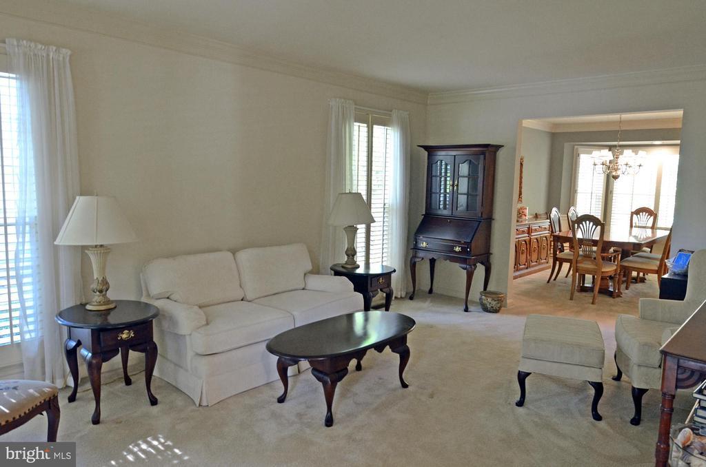 Living Room - 14504 S HILLS CT, CENTREVILLE
