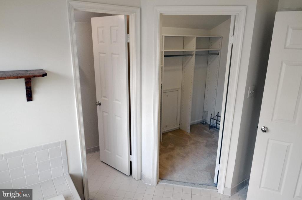 Owner's BA w/Walk-in Closet - 14504 S HILLS CT, CENTREVILLE
