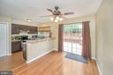Eat in kitchen/ space for table/bar stools - 13 THORNBERRY LN, STAFFORD