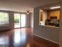 Open design kitchen. - 1900 LYTTONSVILLE RD #306, SILVER SPRING