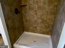 Tiled Shower in Master Bath - 544 WHITE PINE LN, BOYCE