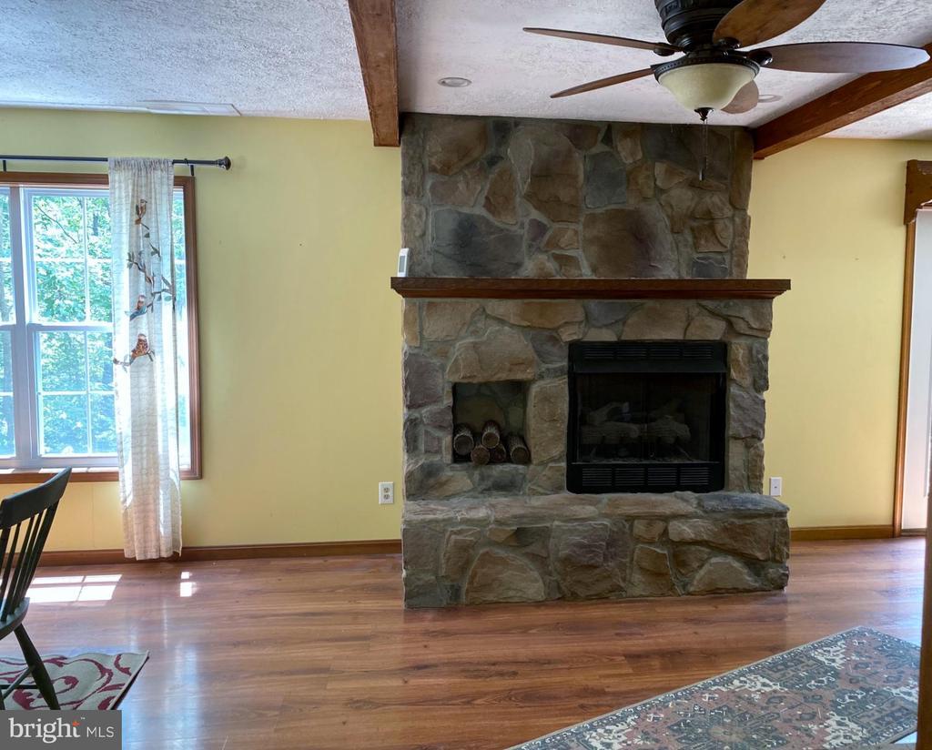 Fireplace With Gas Insert - 544 WHITE PINE LN, BOYCE