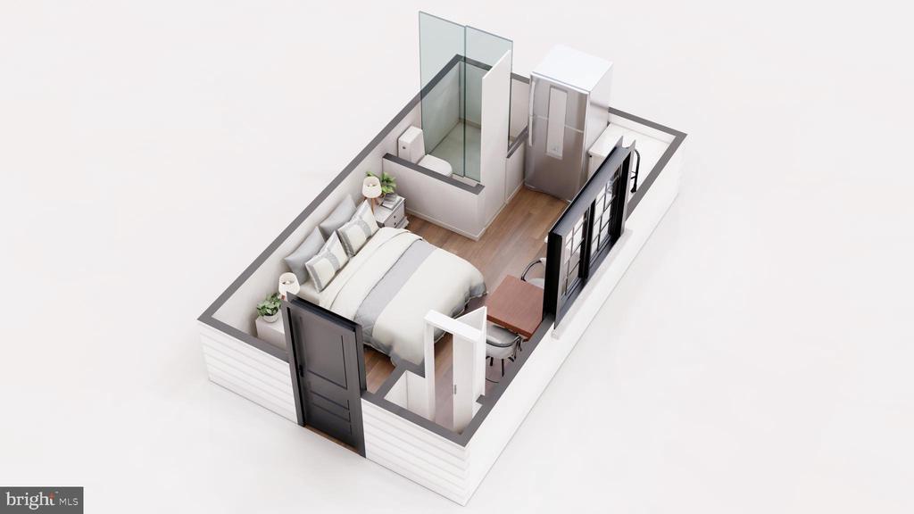 Au-Pair Suite with Full Bath - 3729 N PERSHING DR, ARLINGTON