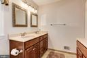 Remodeled Master Bathroom - 8843 APPLECROSS LN, SPRINGFIELD