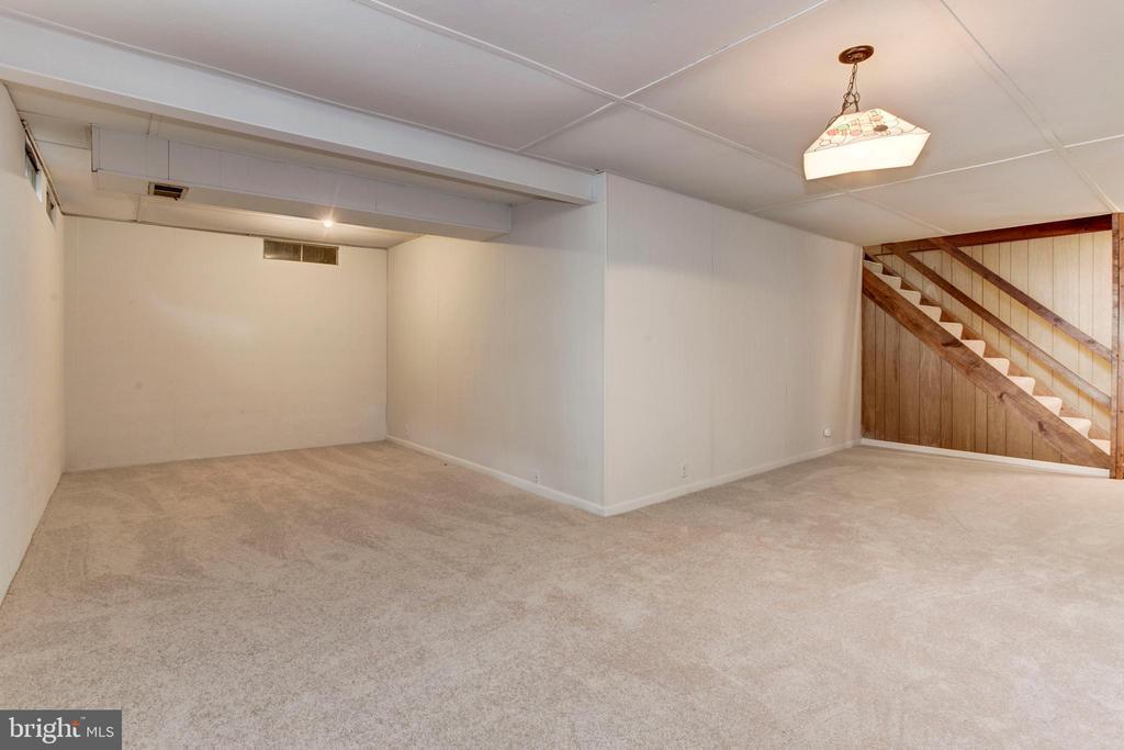 Rec Room in Basement - 8843 APPLECROSS LN, SPRINGFIELD