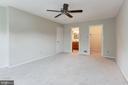 Master Bedroom - 8843 APPLECROSS LN, SPRINGFIELD