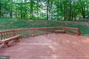 Private View from Deck - 8843 APPLECROSS LN, SPRINGFIELD