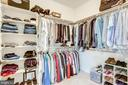 Walk-in closets have shelving - 904 LOCUST ST, HERNDON