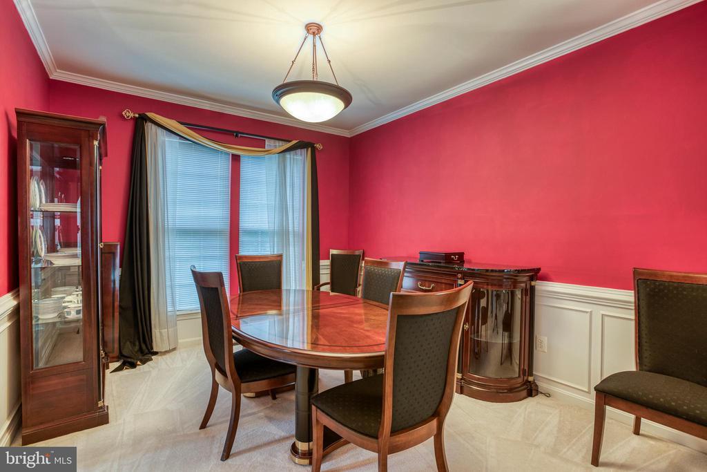 Formal Dining Room - 43435 MINK MEADOWS ST, CHANTILLY