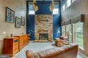 2 Story Family Room - 43435 MINK MEADOWS ST, CHANTILLY