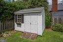 Double door shed - 809 MORTIMER AVE, FREDERICKSBURG