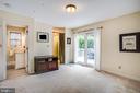 Main level Master Bedroom or Den w/full bath - 809 MORTIMER AVE, FREDERICKSBURG