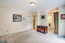 Main level bedroom w/full bath & walk in closet - 809 MORTIMER AVE, FREDERICKSBURG