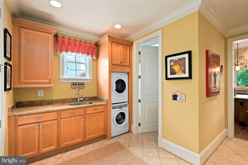 laundry room #1 - 11215 KINSALE CT, ELLICOTT CITY